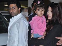 Photo : Abhi's glad to have Ash, Aaradhya back