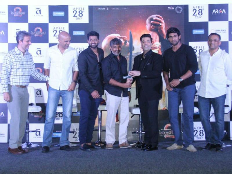 Baahubali 2: Prabhas, Rana Daggubati Bring S S Rajamouli's Film To Mumbai