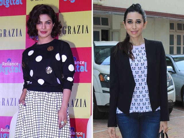 What Priyanka and Karisma Wear to Work