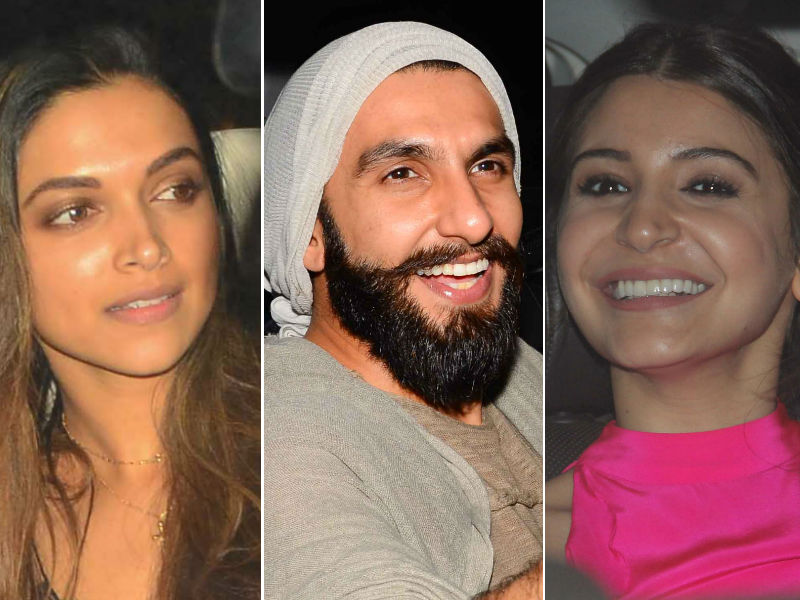 Ranveer Singh Watches Befikre With Deepika And Anushka
