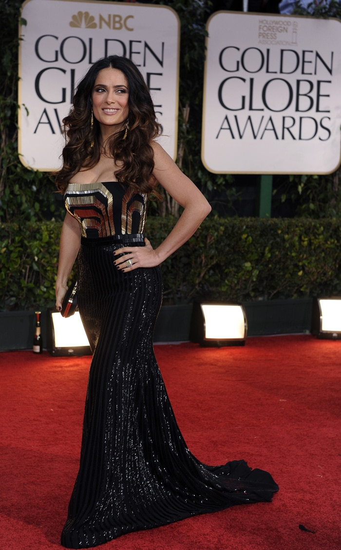 Best Dressed at the 69th Golden Globes