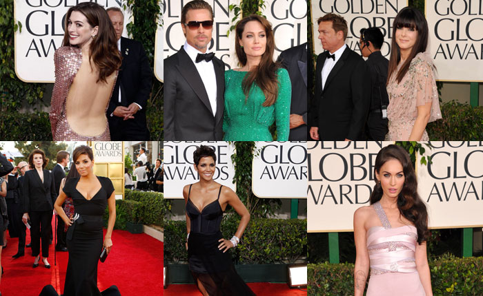 68th Golden Globes: Best Dressed