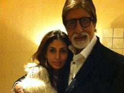 Big B's timeless moment with daughter