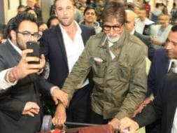 Photo : Wizard of Oz: A Superstar Welcome for Big B