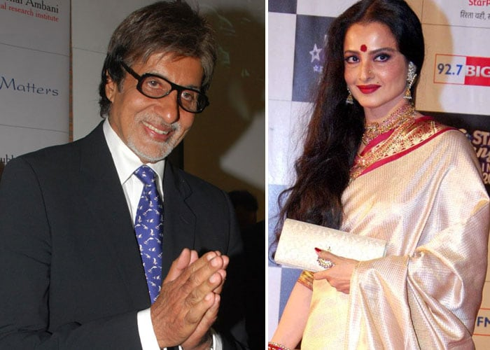 Reliving Amitabh-Rekha's screen chemistry