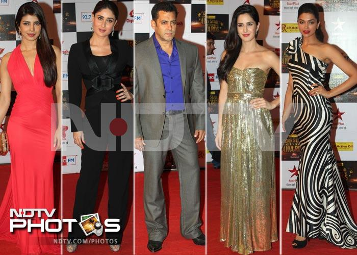A-list red carpet at Big Star Awards