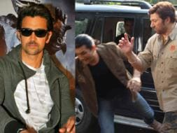 Photo : Party time for Hrithik, all work for Sunny