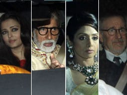Photo : Big stars at Ambanis' party for Spielberg