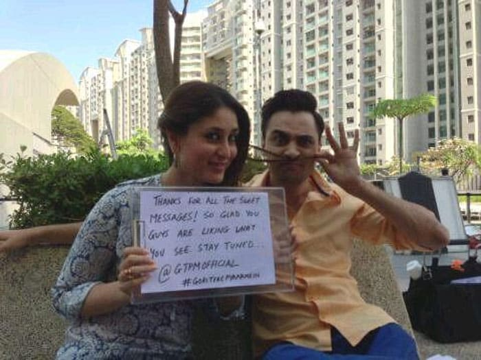 A message from Kareena and Imran