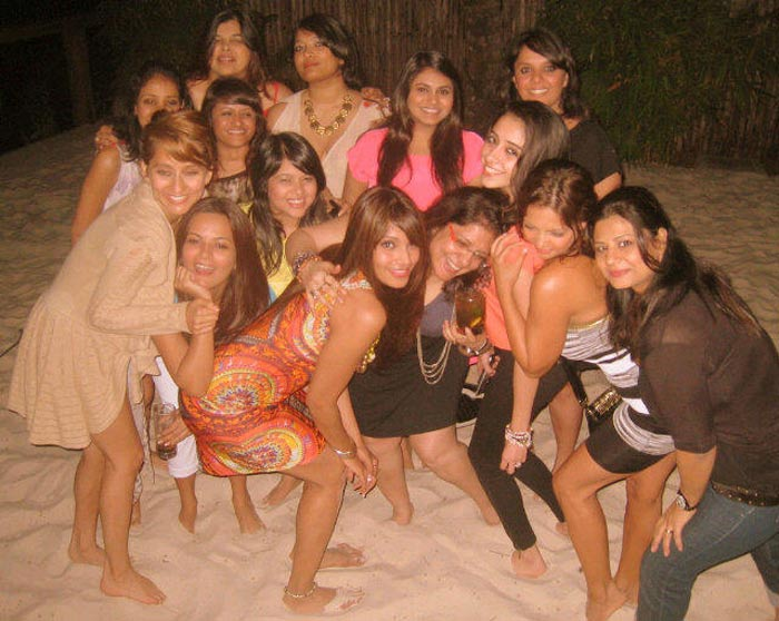 Bipasha's Goan birthday party