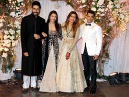 Photo : Abhishek, Aishwarya, SRK, Salman Attend Bipasha-Karan's Wedding