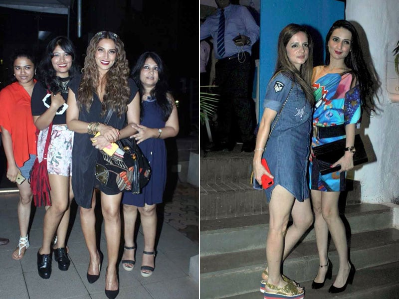 An Evening Well Spent For Bipasha And Sussanne