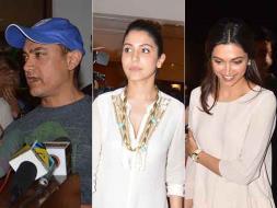 Photo : Bollywood Meets the Minister: Aamir, Anushka, Vidya Discuss Censor Board