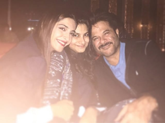 Anil Kapoor Celebrates Birthday With Sonam, Rhea in Dubai