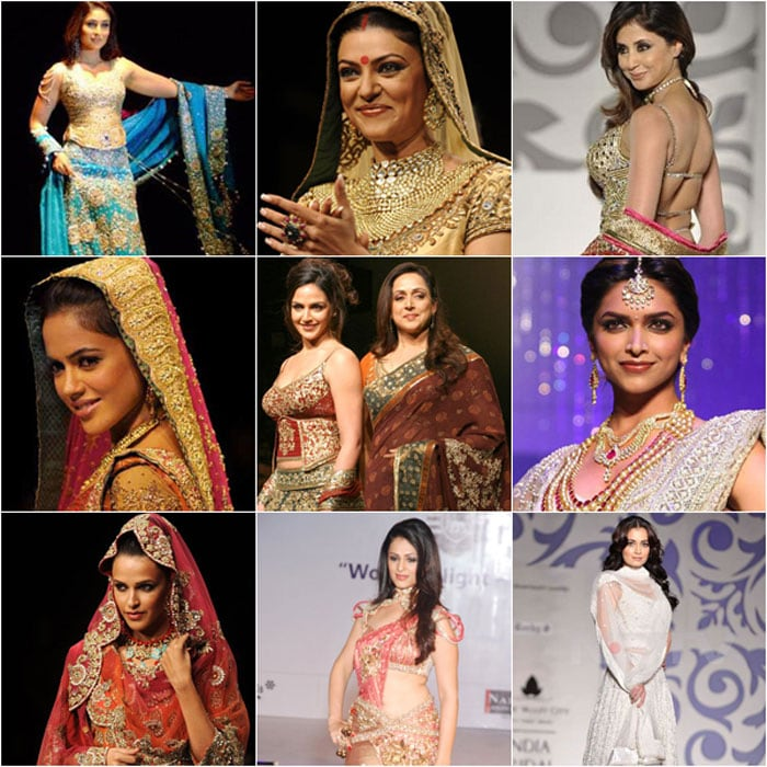 Bollywood's Bridal Style
