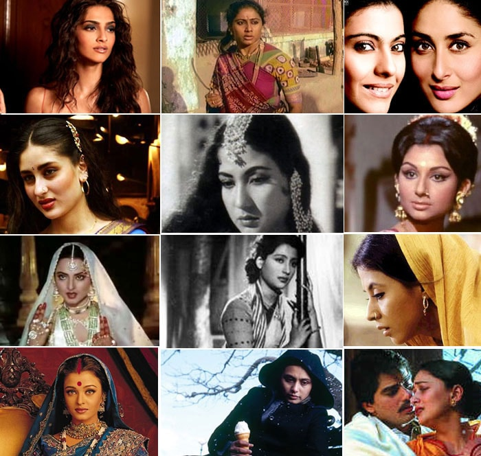 Bollywood's famous on-screen women