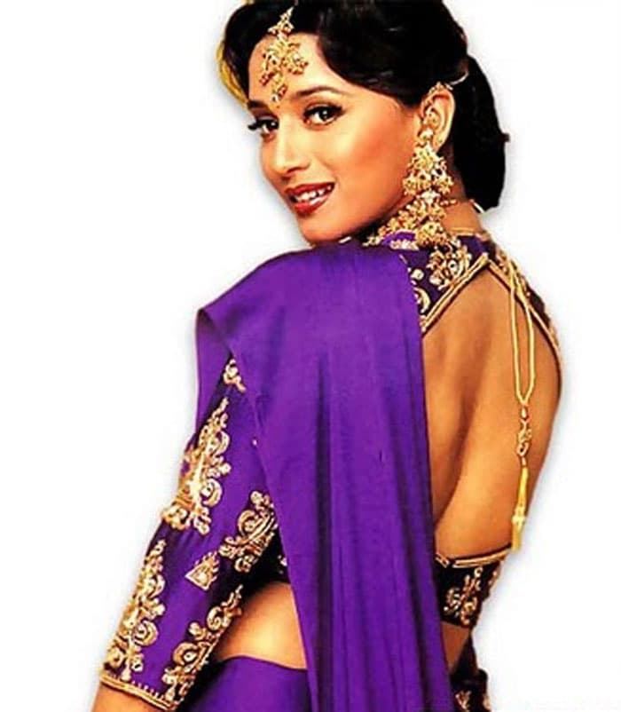 hum aapke hain koun wallpapers.  and backless blouse in Hum Aapke Hain Kaun launched a thousand weddings.