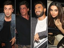 Photo : Saturday Night Party With SRK, Deepika, Ranveer and Ranbir