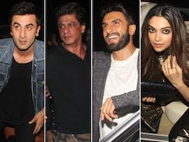 Saturday Night Party With SRK, Deepika, Ranveer and Ranbir