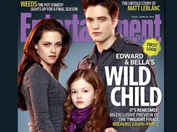 Photo : Twilight delight: Meet Bella and Edward's daughter, Renesmee
