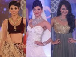 Photo : Fashionistas walk the ramp: Shilpa, Sonakshi, Sushmita