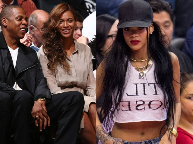 With Beyonce, Rihanna Around, Who's Watching the Ball?