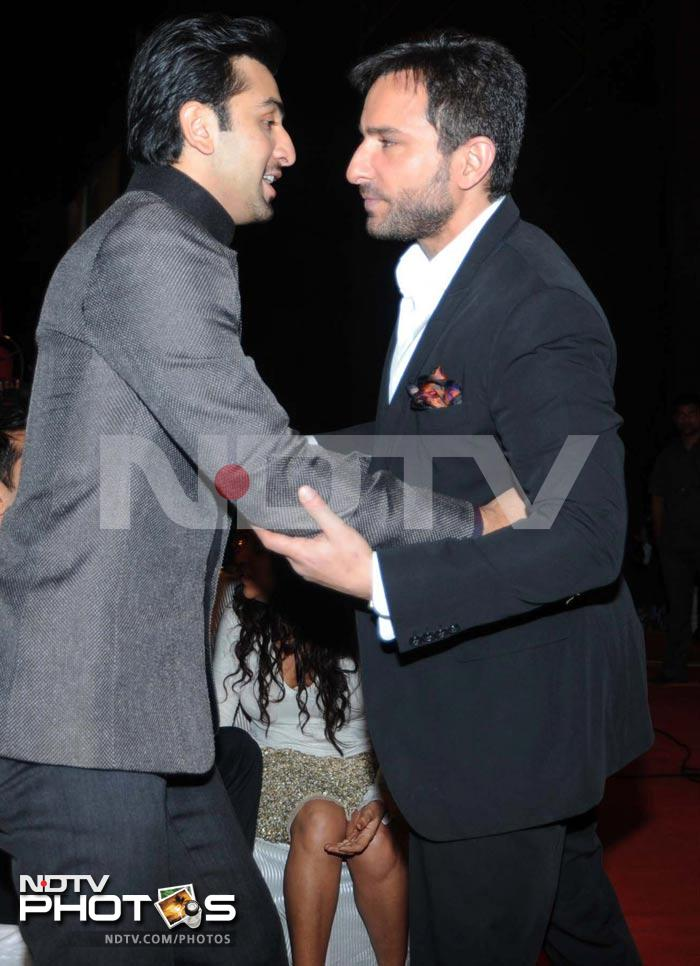 Saif, Ranbir hug and more intimate star moments