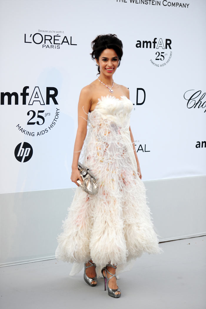 Cannes 2011: Mallika impresses in White