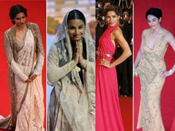 Photo : Miss Indias at Cannes: Sonam, Vidya, Freida, Mallika