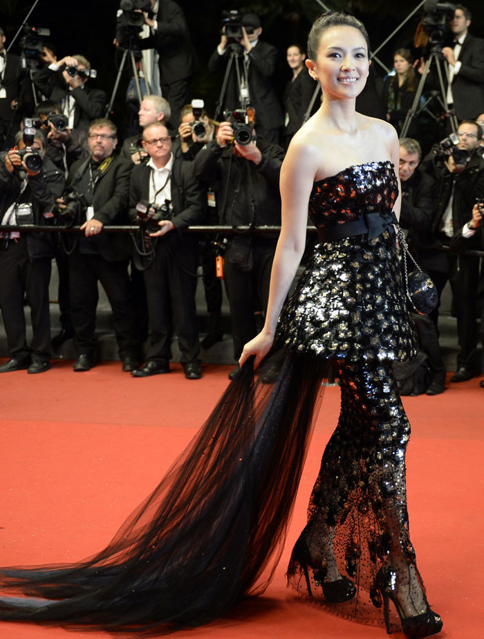 zhang ziyi red carpet 2017 - photo #41