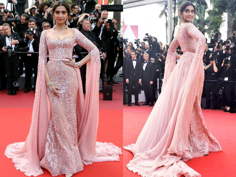 Cannes Day 5: Sonam Kapoor Makes A Style Statement In Elie Saab