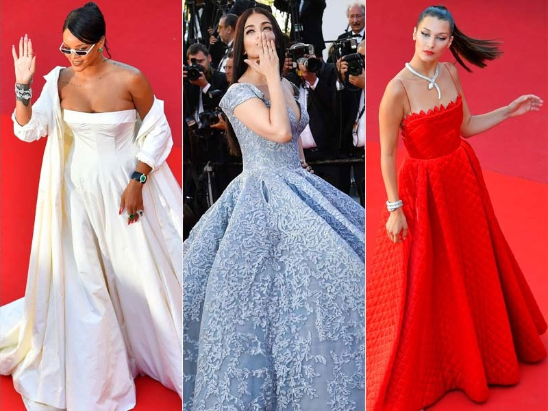Cannes Day 3: Rihanna, Aishwarya, Bella Hadid Were Showstoppers