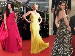 Photo : Do the Cannes Cannes: Mallika, Charlize, Salma