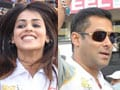 Photo : Salman, Genelia at Celebrity Cricket League