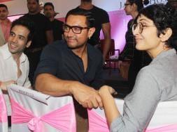 Photo : No Kidding With Aamir, Farah, Tusshar