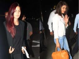 Photo : Crowded Airport: Katrina to Cannes, Priyanka to New York
