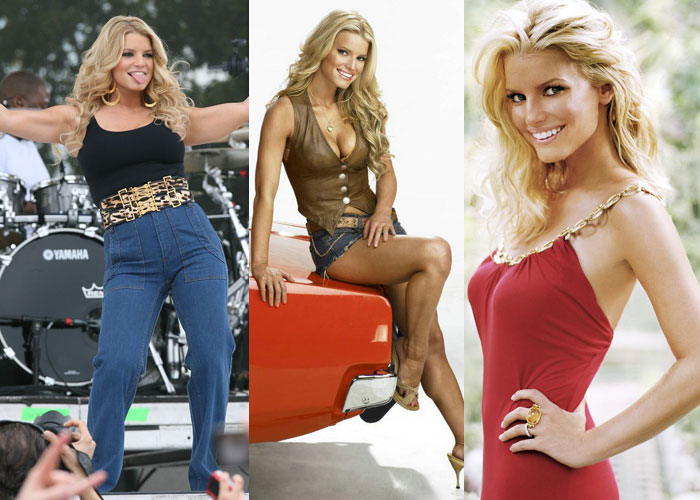 jessica simpson dukes of hazzard weight. Jessica Simpson was this