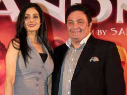 Photo : Rishi Kapoor, Sridevi at Chaar Din Ki Chandni music release