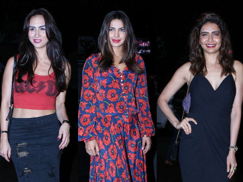 Priyanka Was At This Party Ahead Of Her Birthday Vacation