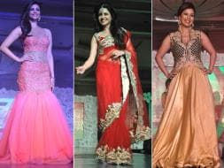 Photo : Daisy Shah, Bhagyashree, Debina Walk the Ramp For Charity