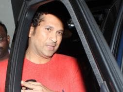 Photo : Master Blaster in the Audience: Sachin Tendulkar Watches Lai Bhaari