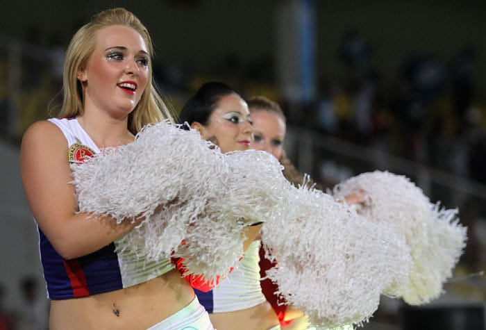 Cheerleaders sizzle at IPL