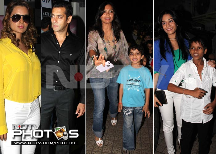 Salman hosts Chillar Party premire for kids