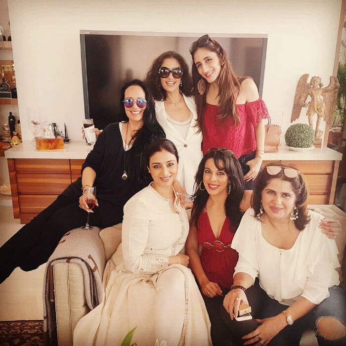 शिल्पा शेट्टी और पूजा बेदी ने ऐसे सेलिब्रेट किया क्रिसमस