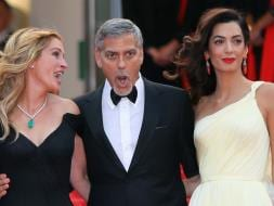 Photo : Cannes 2016: George Clooney, Amal and Julia Roberts Steal the Show