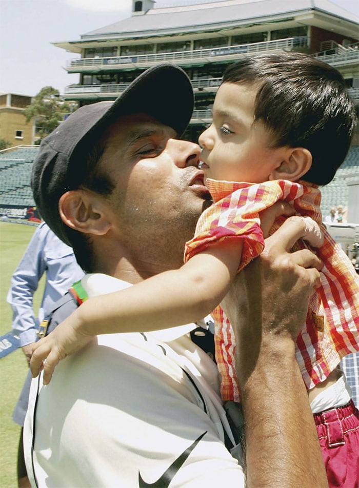 Cricketers and Their Lil' Ones