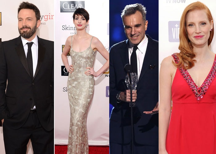 Celebrity line-up at Critics' Choice Awards