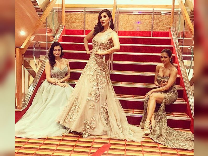 Malaika, Shilpa, Dia Dazzle At A Cruise Wedding