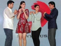 Photo : Blood on the Dance Floor: SRK, Kajol, Varun, Kriti