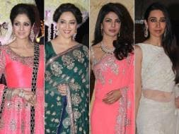 Photo : Wedding Belles: Sridevi, Madhuri, Priyanka, Karisma